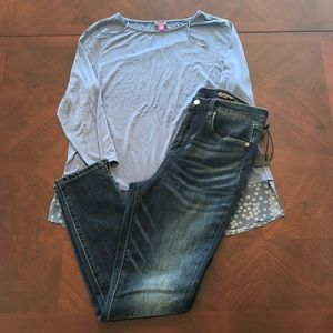 Vince Camuto Sleeve Top